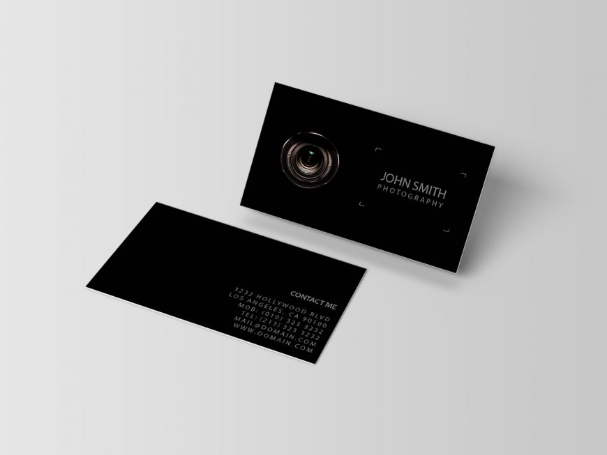 Black photography lens viewfinder photographers business cards j32 black photography lens viewfinder photographers business cards colourmoves Images