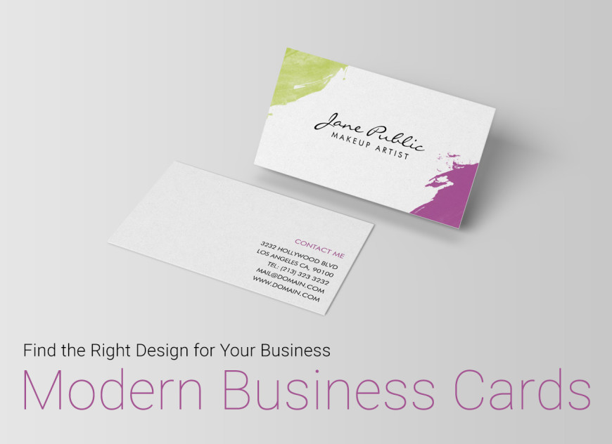 Find the Right Design for your Business - Modern Business Cards | J32Design.com