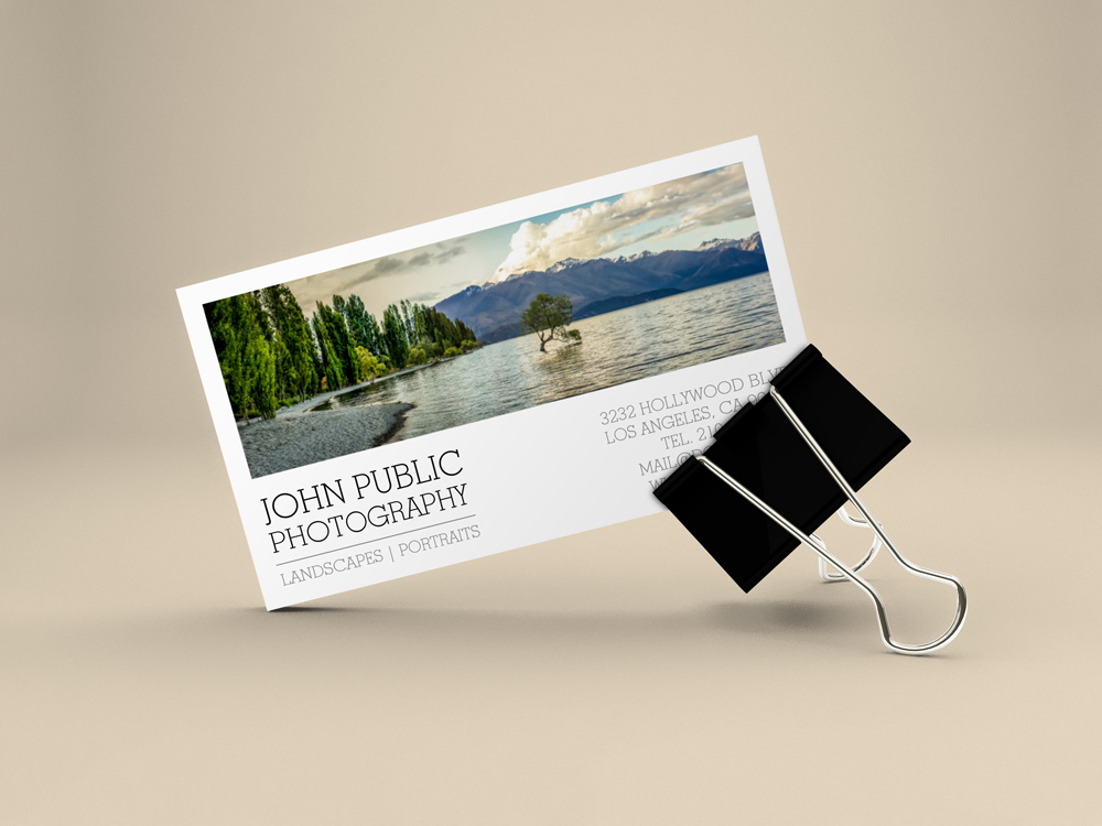 Landscape grapher Business Cards J32 DESIGN