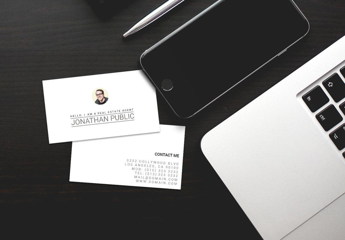 Professional Real Estate Agent Business Cards - J32 DESIGN