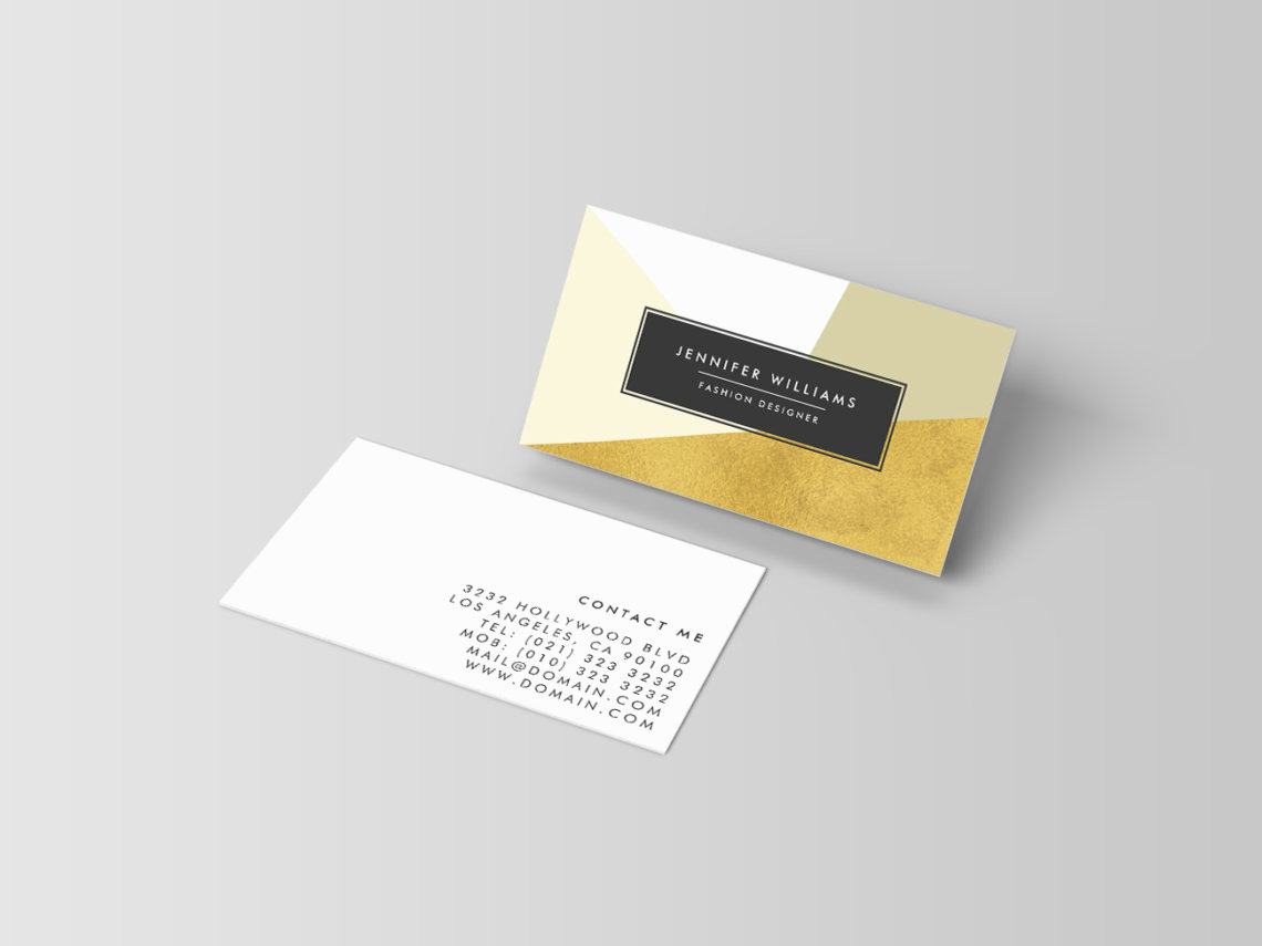 15 Trendy and Chic Business Cards that will get your Customers ...
