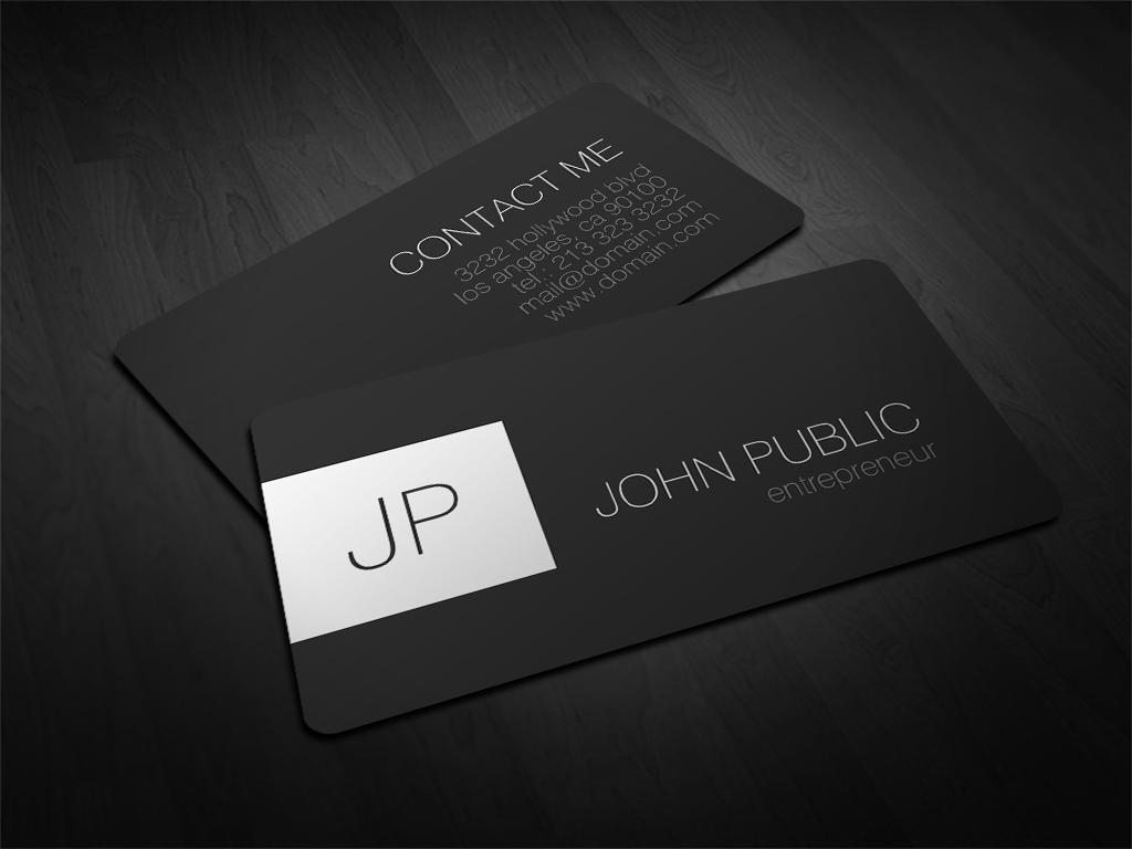 Modern elegant rounded corner business cards j32 design magicingreecefo Images