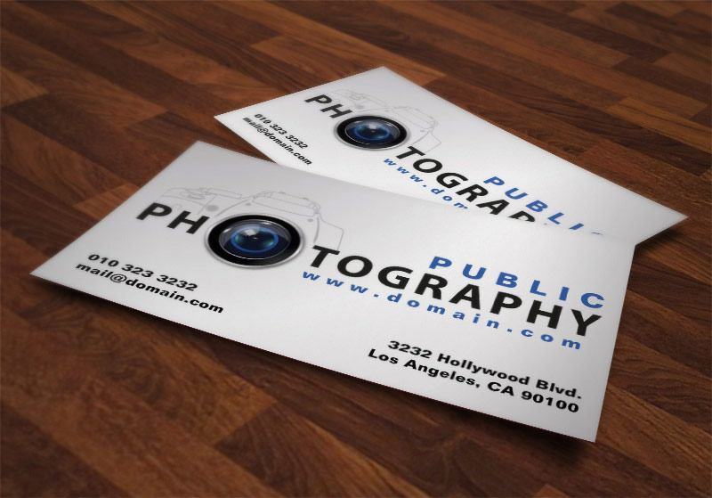 Photography Business Cards by J32 Design