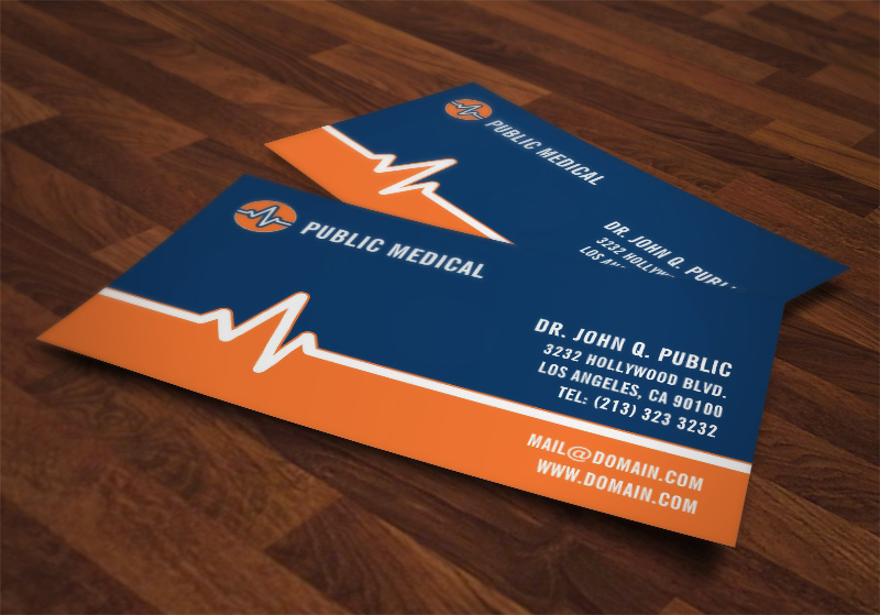 medical business cards - Medical Business Cards