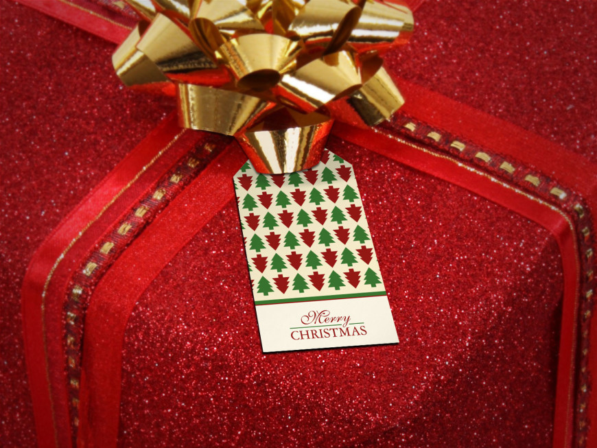 Custom Gift Tags - Decorate Your Christmas Presents - J32 DESIGN