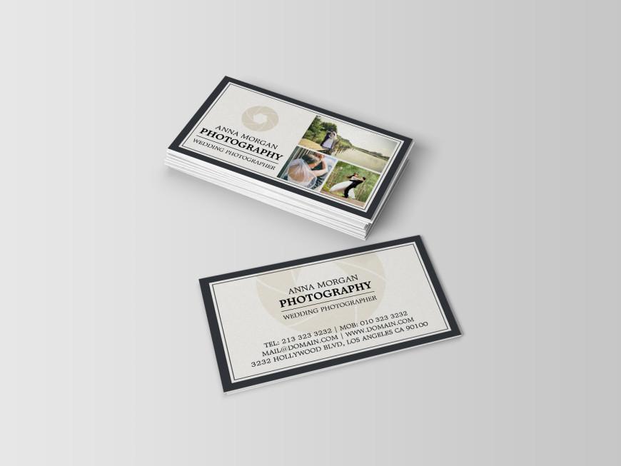 Elegant wedding photographer business cards j32 design business cards template for wedding photographers by j32 design reheart Choice Image